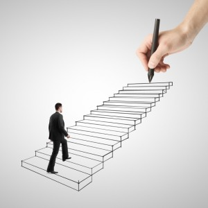 Climbing steps to success